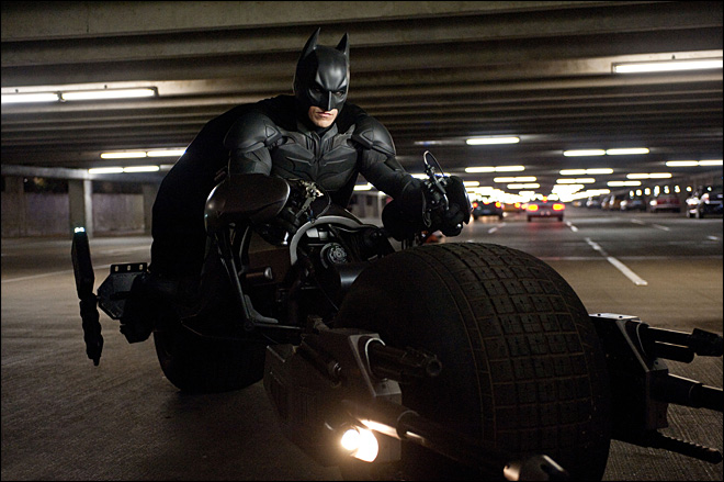 'Dark Knight' on top for third straight week