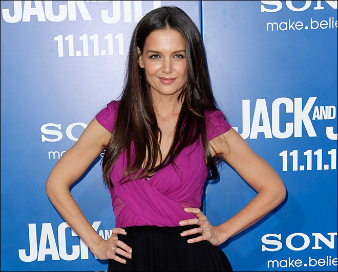 Post-divorce, hope grows for Katie Holmes' film career
