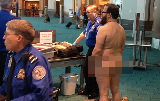 Judge: Naked man at TSA screening protected by free speech