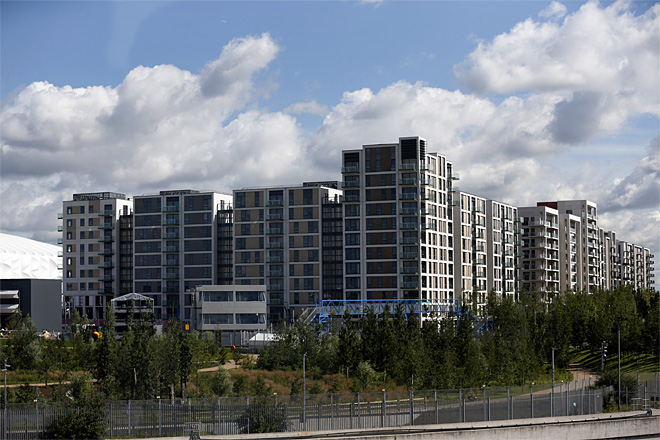 Britain Olympics Athlete's Village