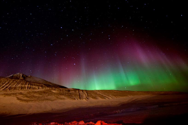 Southern Lights: Beauty from the bottom of the world