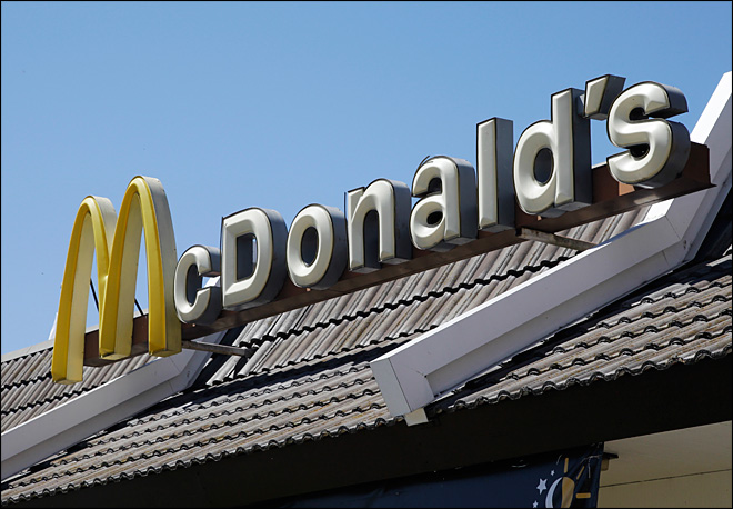 McDonald's showing signs of tear from economy