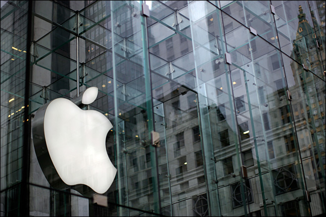 Apple sets record for company value at $624B
