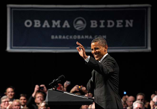 Live blog: President Obama campaigns in Oregon
