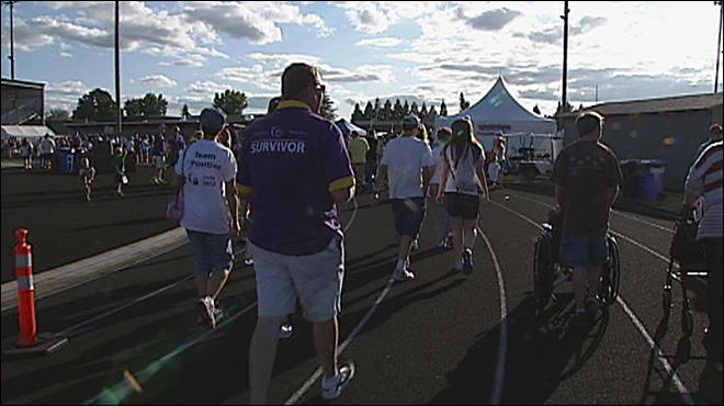Eugene's Relay for Life: 'This is how we strike back'