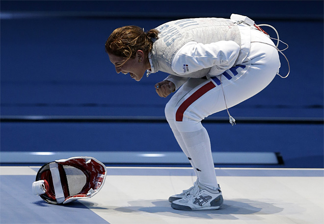 London Olympics Women Fencing