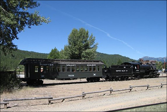 TV series films in living Oregon ghost town