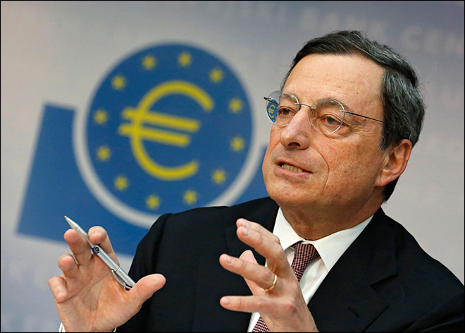 All eyes on European Central Bank's Draghi to fight crisis