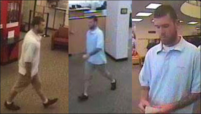 Suspect robs downtown bank