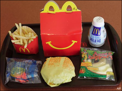 Fast-food chains sued as Chile outlaws happy meals