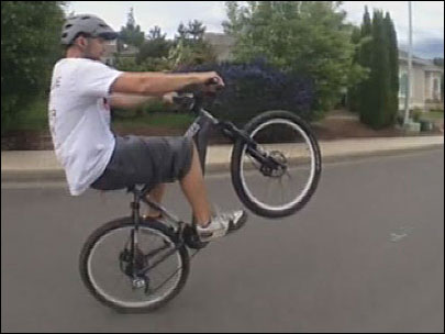 Wheelie for Water: Bike thief ruins charity's World Record attempt