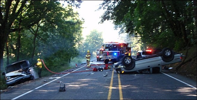 DUII Driver causes head-on crash west of Corvallis