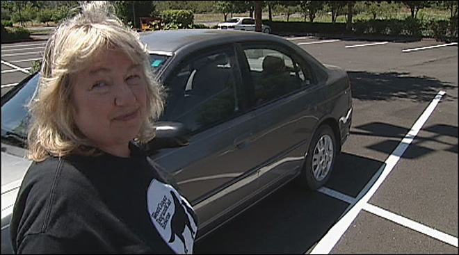 One woman's mission to combat hot dogs in cars