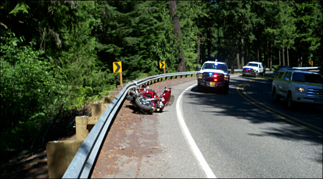 Motorcycle crash kills two on Hwy 20
