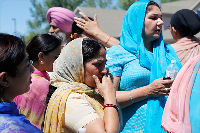 Police: 7 dead in shootings at Sikh temple in Wisconsin