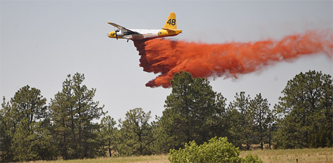 Grass Fire Nebraska