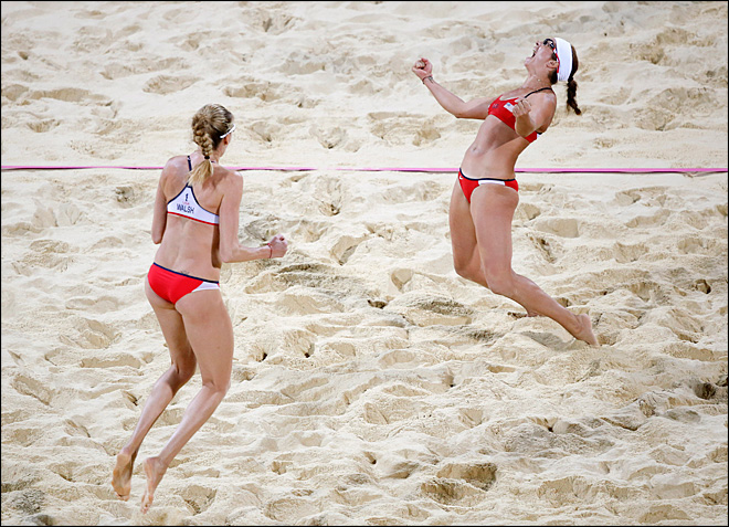 May-Treanor, Walsh win Olympic beach volleyball gold