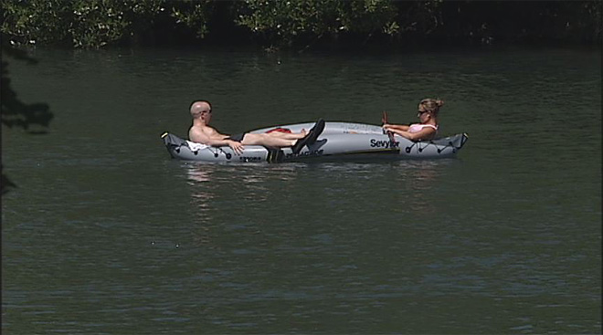 Floating the Willamette River