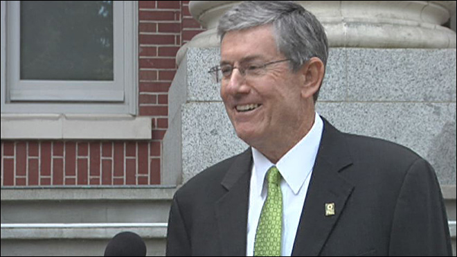 First week on the job for new UO president