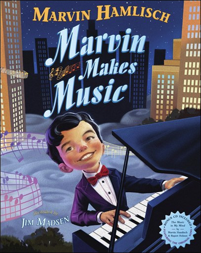 Bittersweet release of Marvin Hamlisch kid book