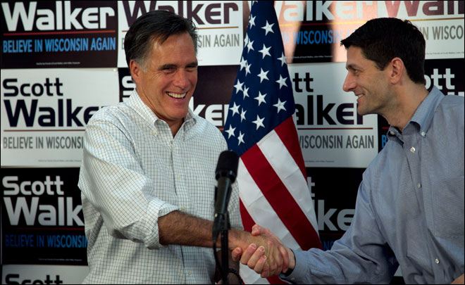 AP source: Romney picks Wisconsin Rep. Paul Ryan for running mate