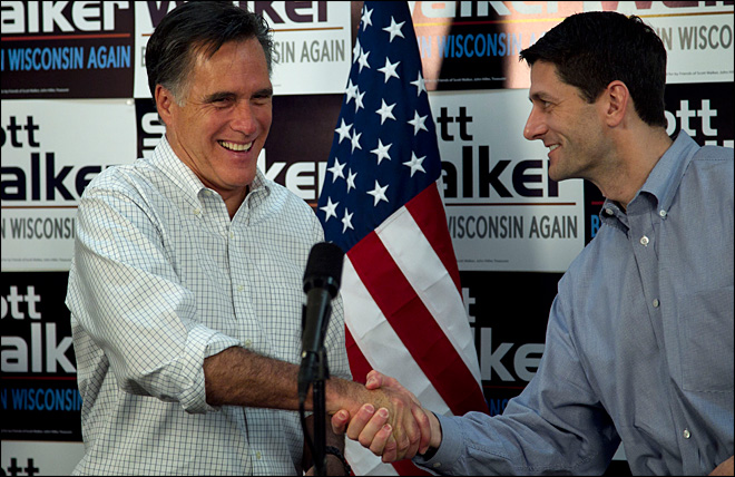 Romney picks Wisconsin Rep. Paul Ryan as running mate