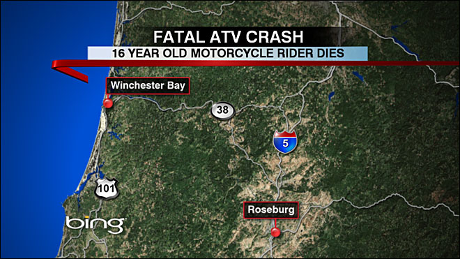 Washington teen killed in crash on Oregon Dunes