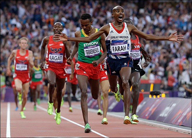 Strong run for Rupp, Mo gold for Farah
