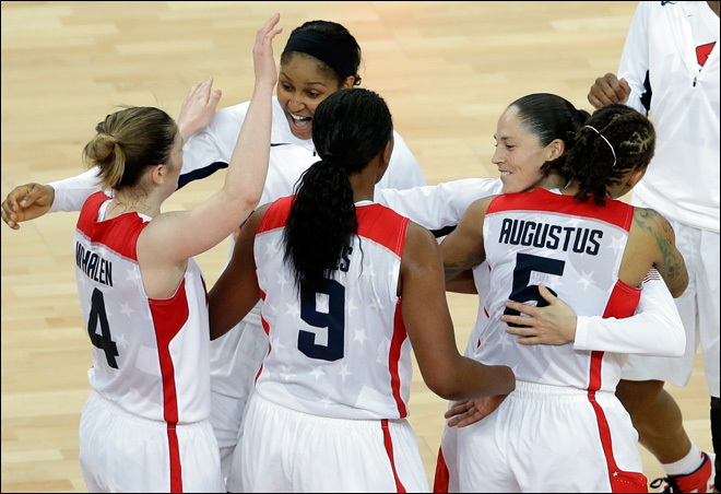 Bird, U.S. women defeat France for 5th straight gold in basketball