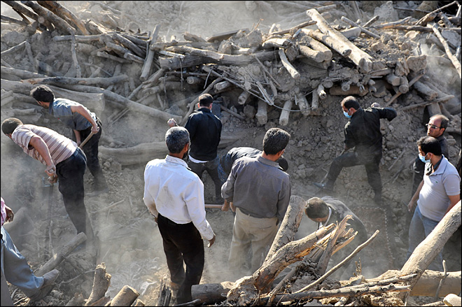 Iran villages in rubble as quake death toll rises