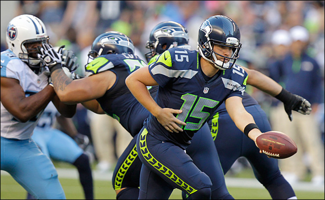 Flynn to get 2nd straight start for Seahawks