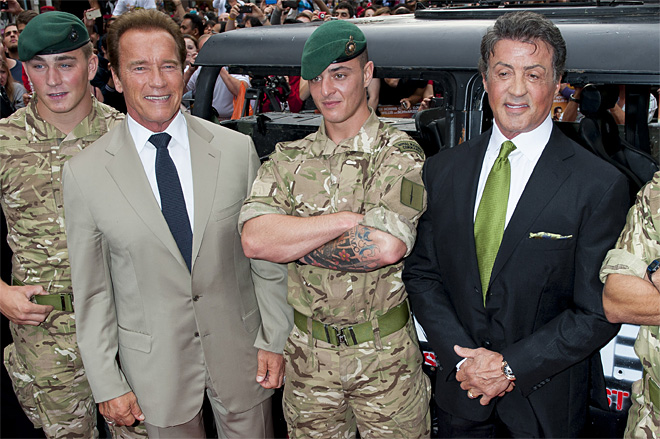 Britain The Expendables 2 Premiere