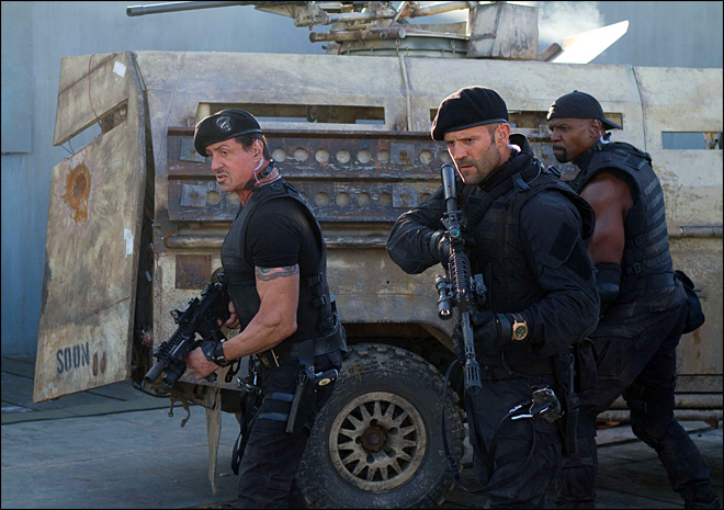 'Expendables 2' dedicated to memory of stuntman