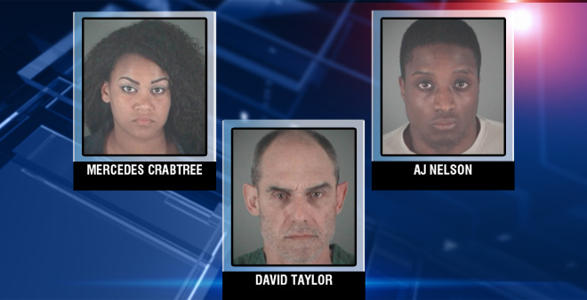 Police: three arrests, two bank robberies and a missing man's body