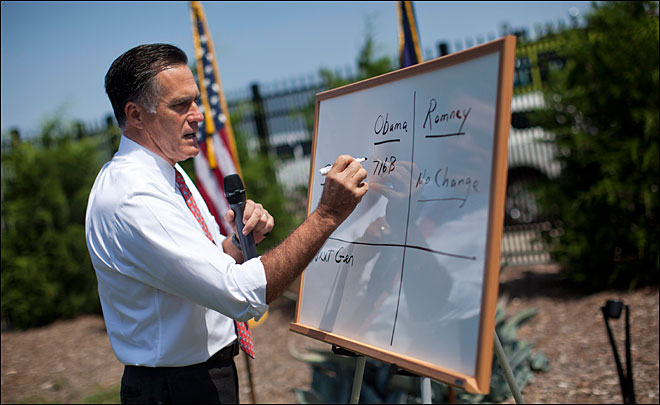 Romney: Never paid less than 13 percent in taxes