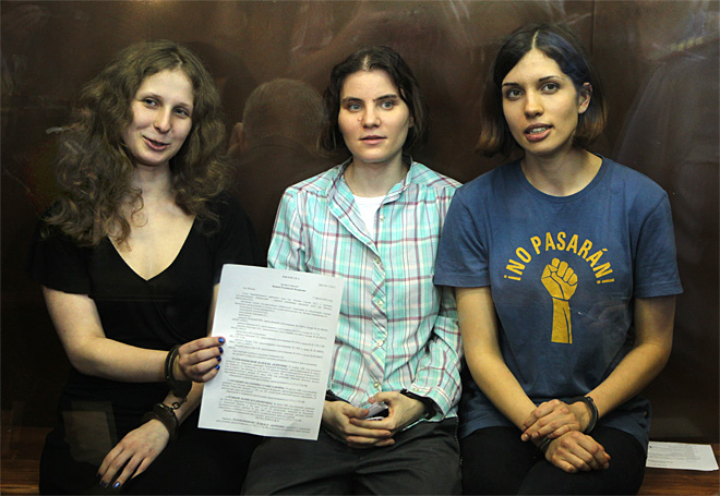 Russian court turns down Pussy Riot  appeal