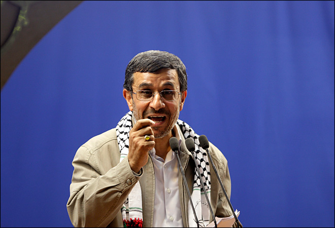 Iran: Israel's existence 'insult to all humanity'