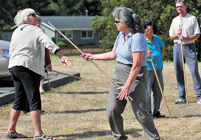 Senior citizens learn art of self-defense