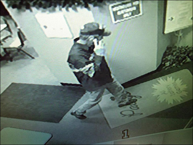 Surveillance image shows suspect in bomb threat