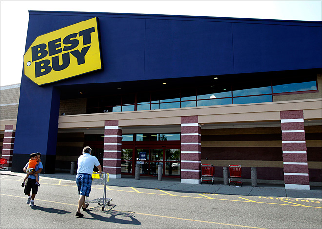 Best Buy profit plunges 90 percent