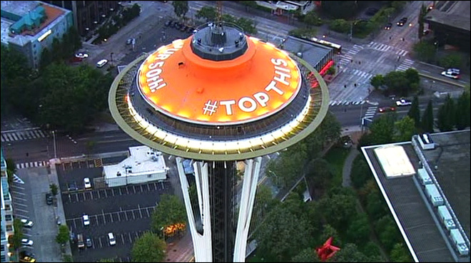 Space Needle wants you to design its next paint job
