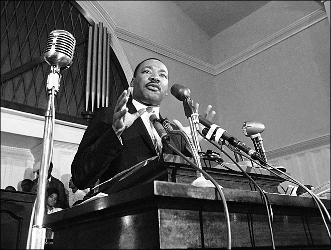 Unheard Martin Luther King Jr. recording found in attic