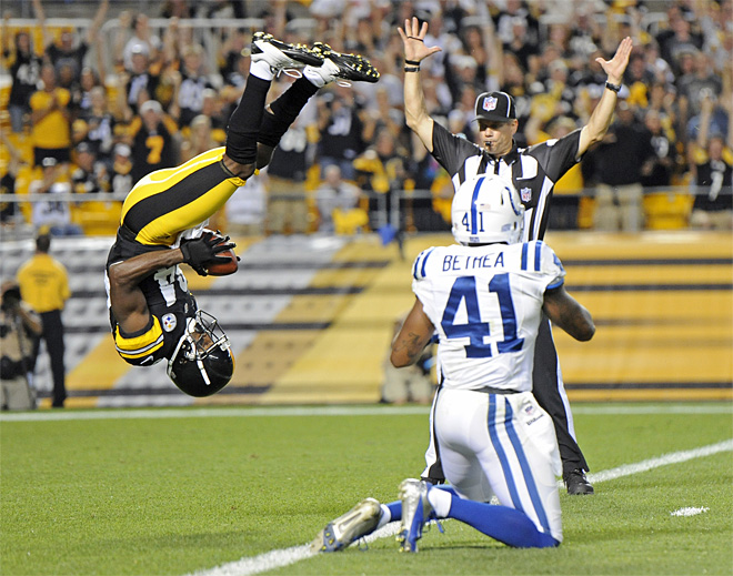 APTOPIX Colts Steelers Football