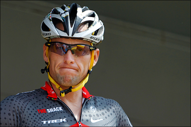 Lance Armstrong stripped of titles, banned for life