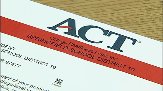 Springfield ACT scores come up short: 'We've got to close that gap'