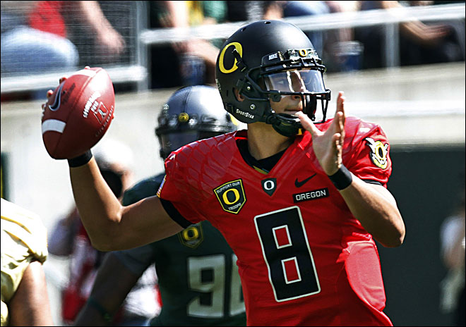 Mariota to start at QB for Ducks