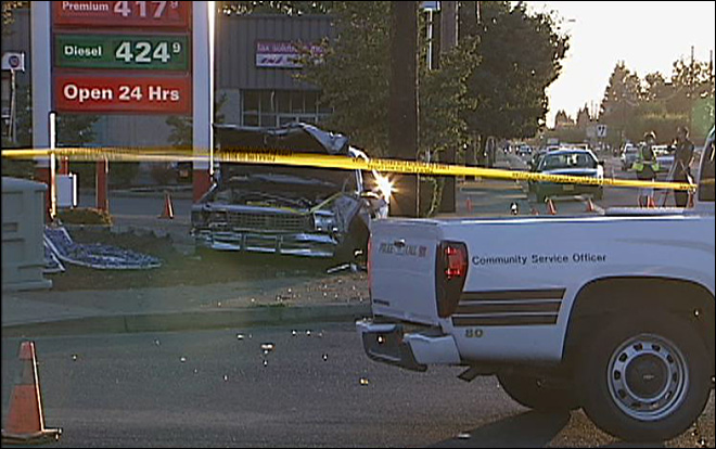 Fatal crash in Springfield blocks part of Main Street