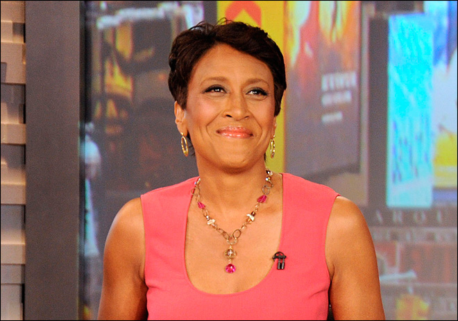 Robin Roberts exits 'GMA' with a promise to return