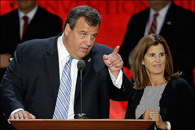 Christie&#39;s blunt style tested in convention speech
