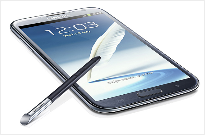 Samsung reveals new Galaxy Note II